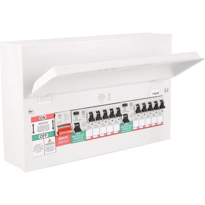 The new Metal Clad Consumer Unit that we now fit to limit the risk of spread of an electrical fire