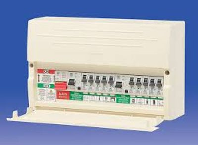 A Nylon Type MK Consumer Unit old 17th Edition Standards