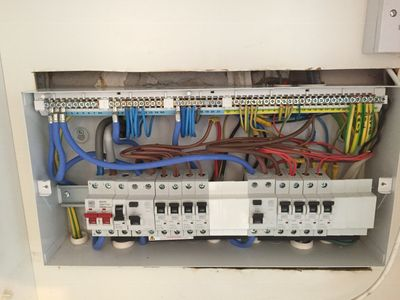 A replacement Metal Clad Consumer Unit fitted by Mad About Electrics, York Electricians