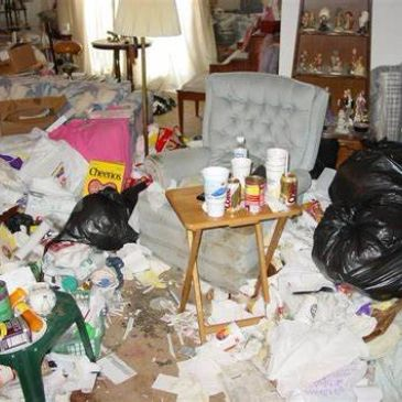 Have you had someone move our of a property and leave a mess behind for someone else to deal with?