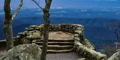 Blue Ridge Parkway Trail.