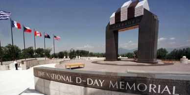 National D-Day Memorial.