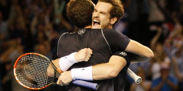 Andy & Jamie Murray win in Davis Cup Doubles