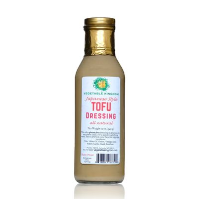 Vegetable Kingdom's Japanese Style Tofu Dressing