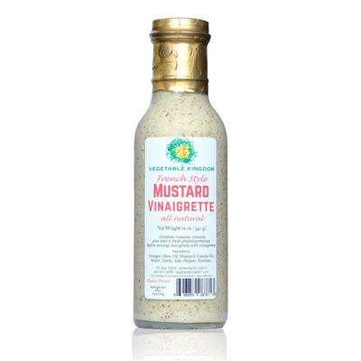 Vegetable Kingdom's  French Style Mustard Vinaigrette
