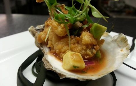 Ceviche Style Fried Oyster
