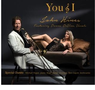 'You & I' Jazz trombone CD cover