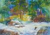 Divergence: A Merced River Experience-Original Watercolor