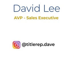 David Lee Title Rep