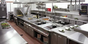 Commercial kitchen photo
