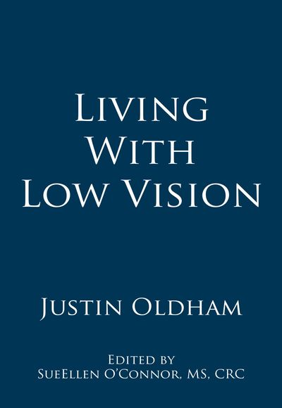 Book cover - Living With Low Vision