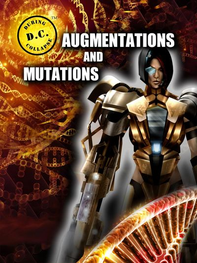 Book cover for D.C.: DURING COLLAPSE AUGMENTATIONS AND MUTATIONS