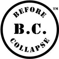 Disk logo for B.C.: BEFORE COLLAPSE™
