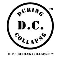 Disk and text logo for D.C.: DURING COLLAPSE™