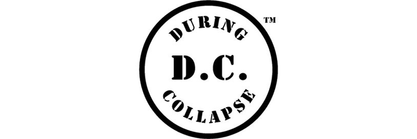 Disk logo for D.C.: DURING COLLAPSE™
