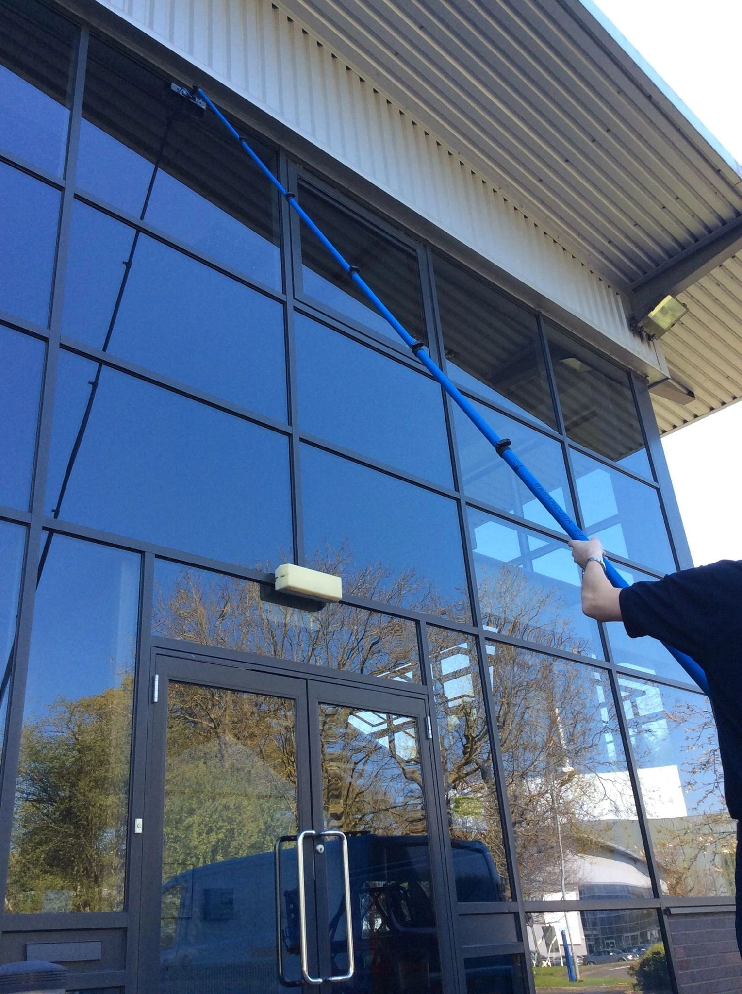 Commercial Window cleaning Renew Outdoor Property Care