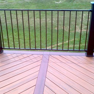 And all of your aluminum steel  and ornamental  hand rail or fencing needs  or composite decking