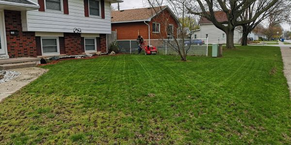Aeration, Overseed, Seed, Lawn Repair