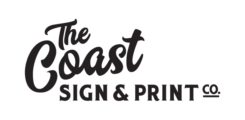 The Coast Sign and Print