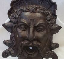 King Neptune Cast Iron Antique Garden Fountain Outdoor Home Fixture Decoration Riverview Antique N Marketplace Best Shop For Interior Designers in Pittsburgh