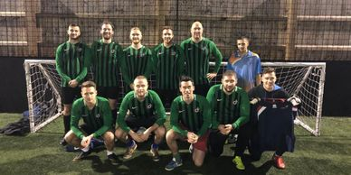Intelligent Data Charity football tournament