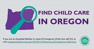 There are now more than 70 locations in Clackamas County approved to provide Emergency Child Care fo