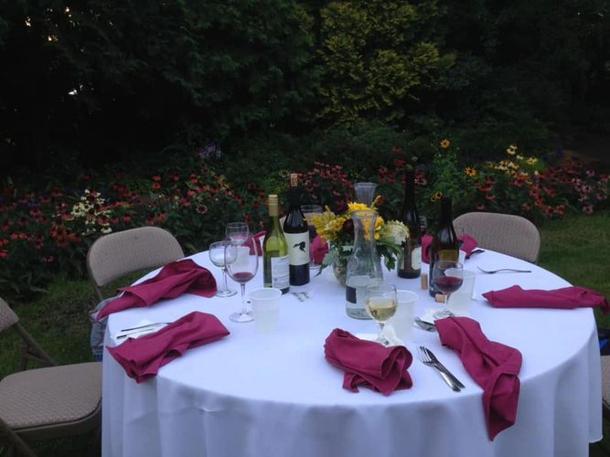 Dinner in the Garden Saturday, Aug. 24 2019 @ Fairhaven Farm