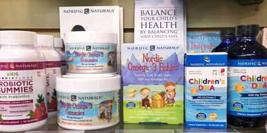 children, nordic naturals, renew life, vitamins, probiotic, sunscreen, cough syrup, source naturals