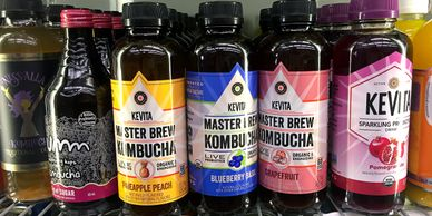 Kombucha, Kevita, Nessala, Organic, Natural, Cheese, Deli, Vegan, Milks, Cream, Eggs, Butter