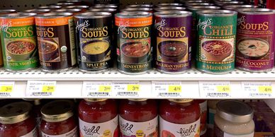 Amy's Soups, Natural, Organic, Canned Foods, Simple Abundance, Red Wing, Minnesota