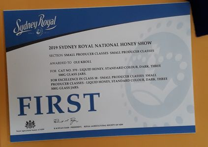 Sydney Royal Winning Honey