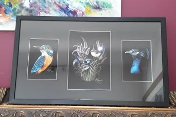 Lisa Kennedy's Bird Artworks. Mudgee Framing.