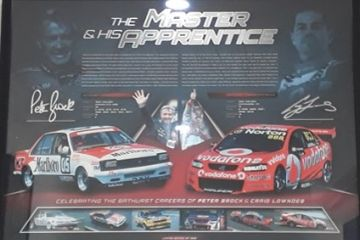 V8's The Master and The Apprentice Memorabilia