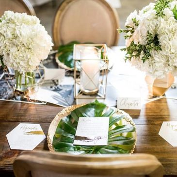 table rentals for weddings and events
