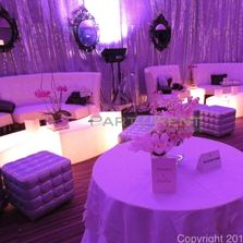 event furniture rental for weddings and events