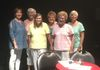 Sue, Sharon, Joanne, Linda,Pat, and Debbie at the Peoria Center for the Performing Arts Summer Concert Series