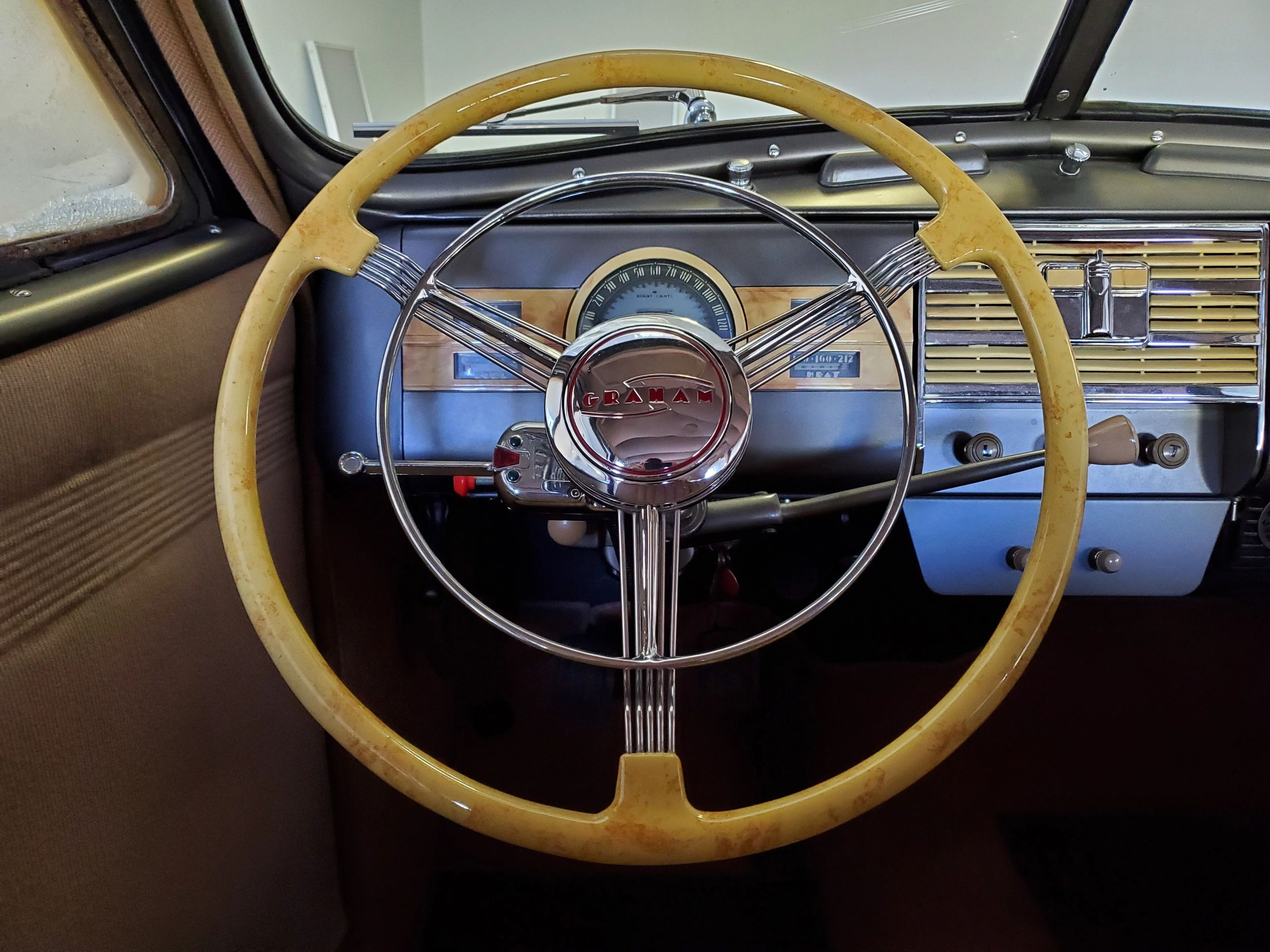 Banjo Steering Wheel and Banjo Steering Wheel Restoration for Antique Cars