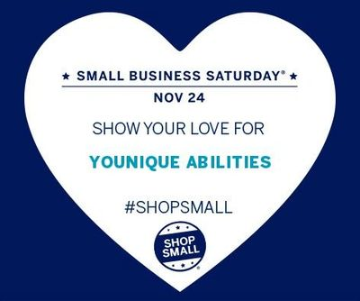 Shop Shop Small Business Saturday with Younique Abilities Nov 24 2018