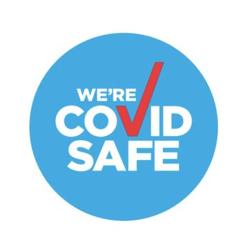 We're registered as a COVID Safe health business
