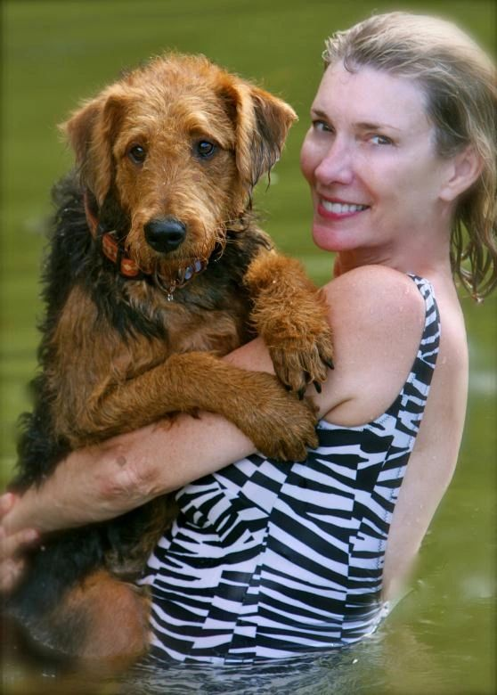 We bought a female Airedale puppy from you in late February.   I just wanted to tell you this is