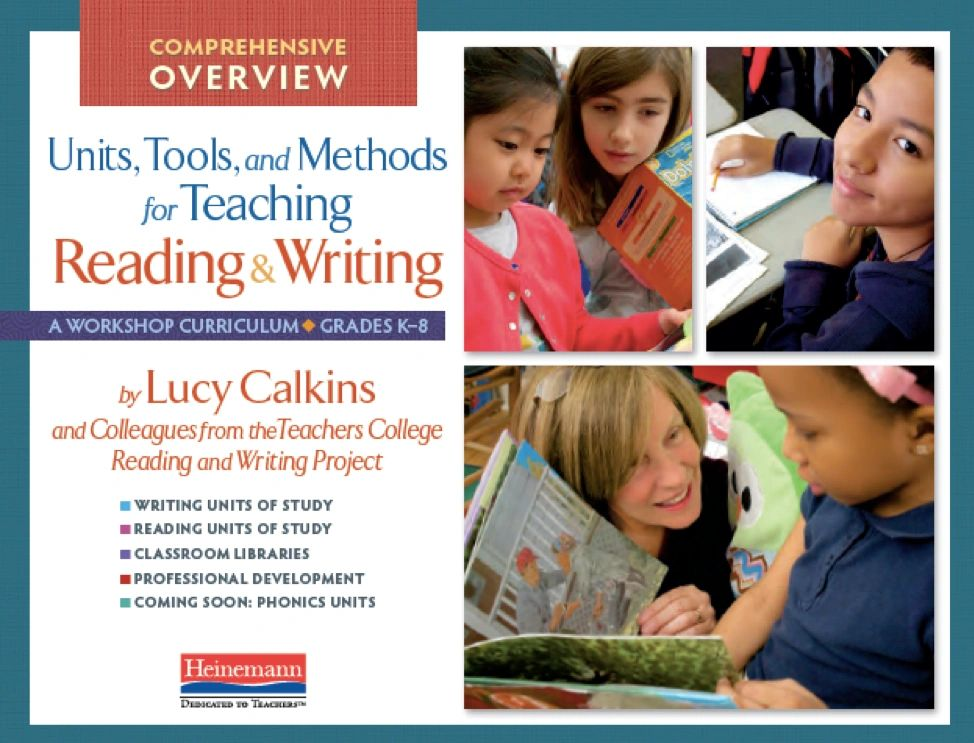 teachers college reading and writing units of study Units of study in reading and writing, by lucy calkins and colleagues from the teachers college reading and writing project | see more ideas about teachers college, writer workshop and writers workshop notebook.