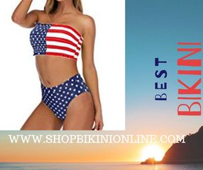 Cute bikini top:Removable shoulder strap with soft padded swimming costume is mostly elastic