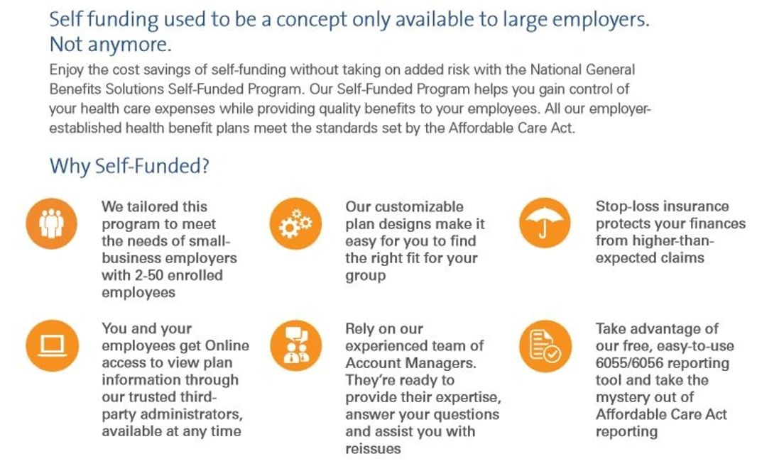 Group Insurance - Self Funded Plan