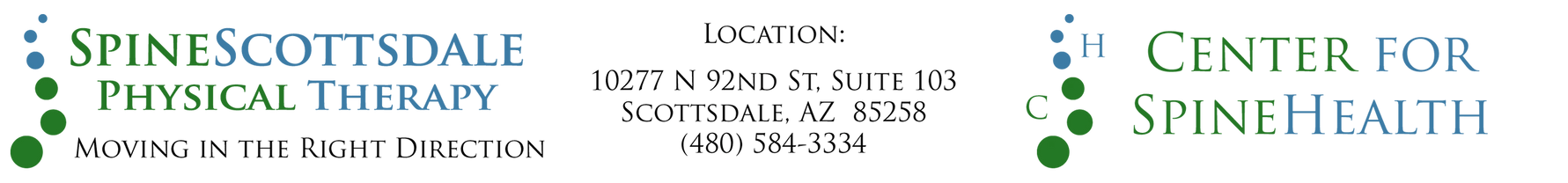 SpineScottsdale PT Center for SpineHealth (480) 584-3334