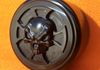 Harley Davidson Motorcycle Axle Nut Cover Cap Skull And Iron Cross