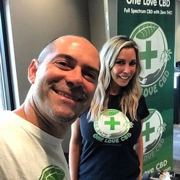 One Love CBD owners at Silver State Relief Dispensary in Sparks, NV.
