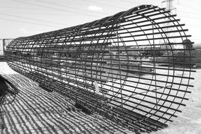 Transmission cell tower cages