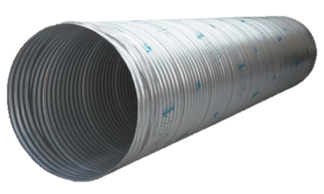 Corrugated metal pipe cmp whistle tube