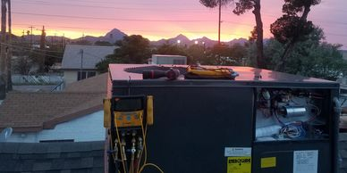 Tucson Arizona air conditioning Eco Clima heating and cooling hvac goodman good best ac unit sunset