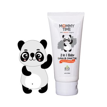 Mommy Time 2in1 Lotion & Liquid Talc contains all the benefits of extracting natural ingredients suc